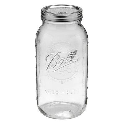 Hydrofarm Ball 2 qt. Canning jar