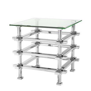 Madagascar Steel Frame End Table