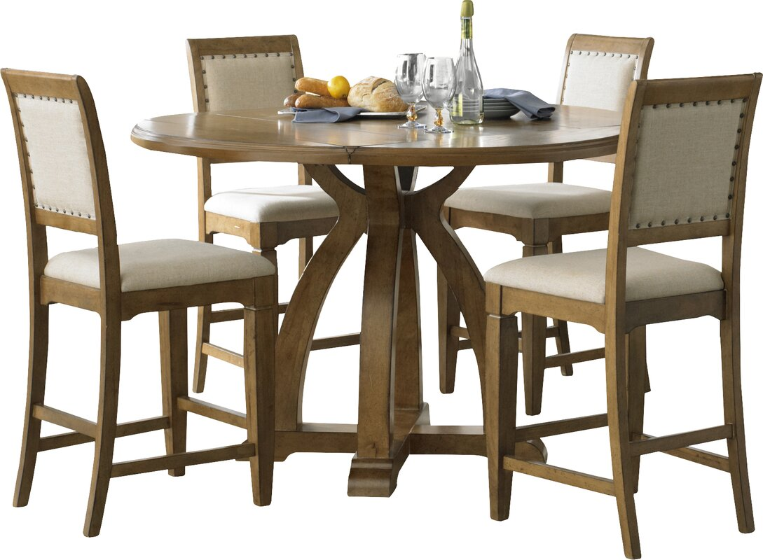lark manor ema counter height dining table base reviews wayfair default name