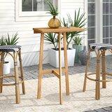 Ricci Folding Solid Wood Balcony Table