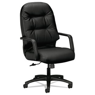 HON 2090 Series High-Back Pillow-Soft Leather Executive Chair