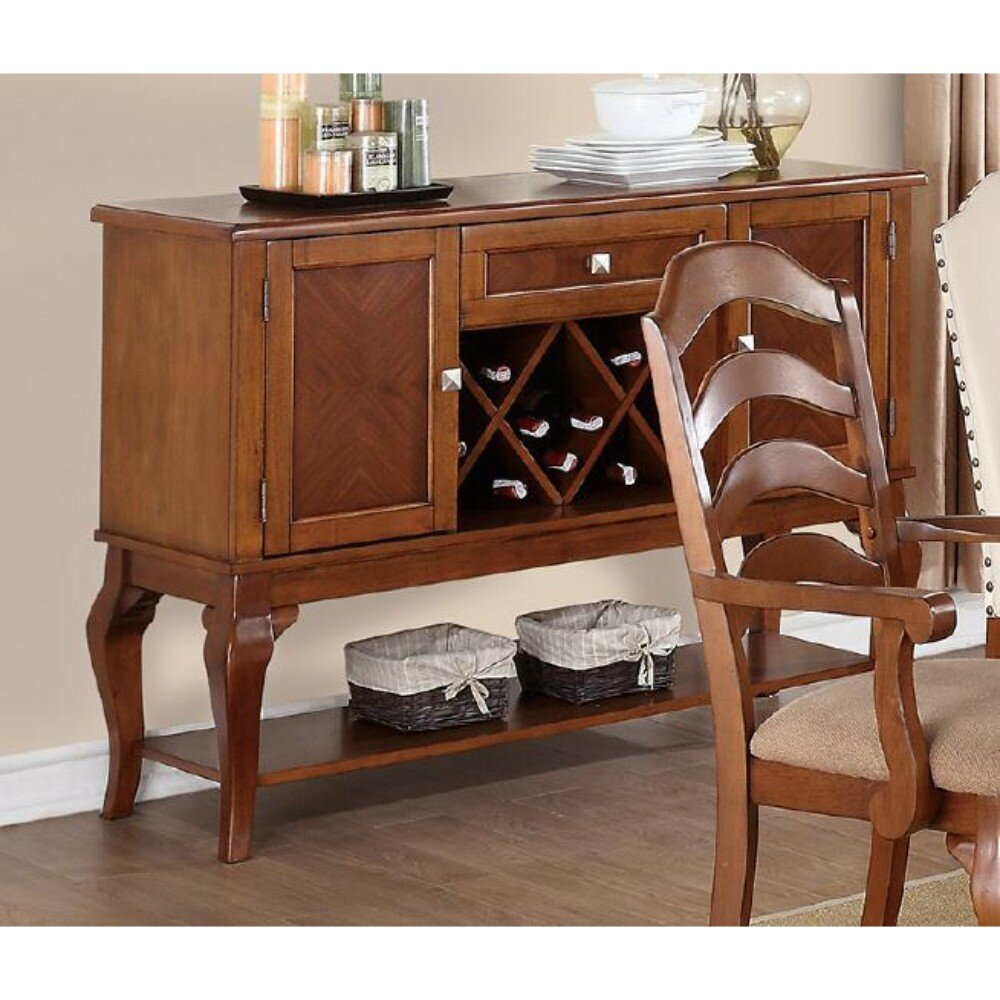 Charlton Home Ruhland Winning Structure Buffet Table Wayfair