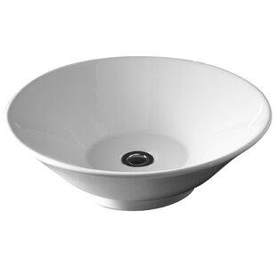 Inexpensive Colony Celerity Ceramic Circular Vessel Bathroom Sink ByAmerican Standard