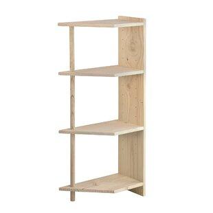 Balla Corner Bookcase By Natur Pur