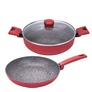 Germanos 3 Piece Non-Stick Cookware Set