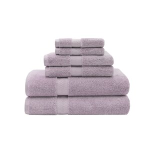 Gillsville 6 Piece Egyptian-Quality Cotton Towel Set