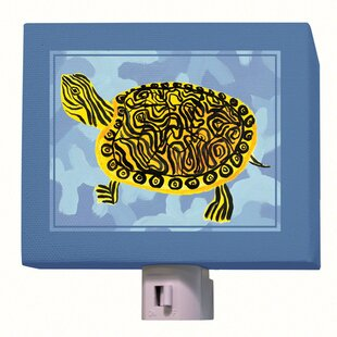 Oopsy Daisy Blue Camo Turtle Night Light