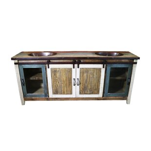 Rollo 70 Double Bathroom Vanity by Millwood Pines