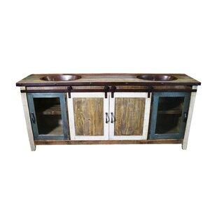 Rollo 80 Double Bathroom Vanity by Millwood Pines