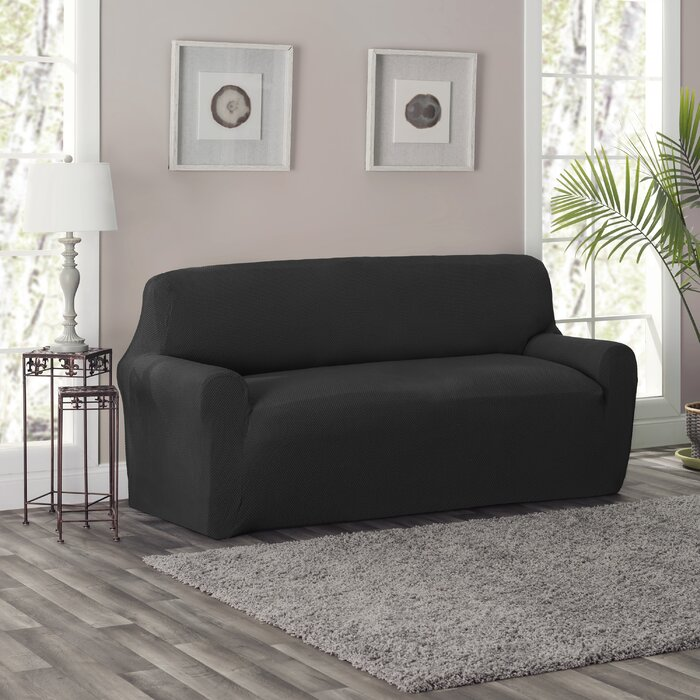 King Box Cushion Sofa Slipcover