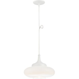 Orren Ellis Libra Transitional 1-Light Te..