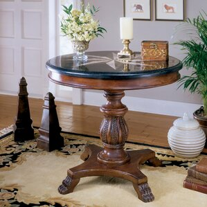 Heritage Stone Inlay End Table
