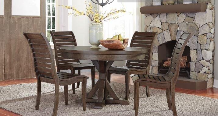 August Grove Carolyn 5 Piece Dining Table Set & Reviews   Wayfair