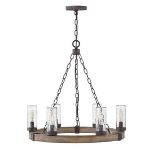 Trend Truc 6-Light Outdoor Chandelier By Gracie Oaks