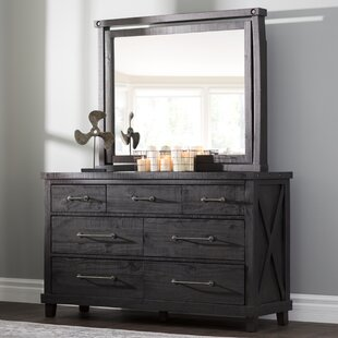 Langsa 7 Drawer Dresser with Mirror