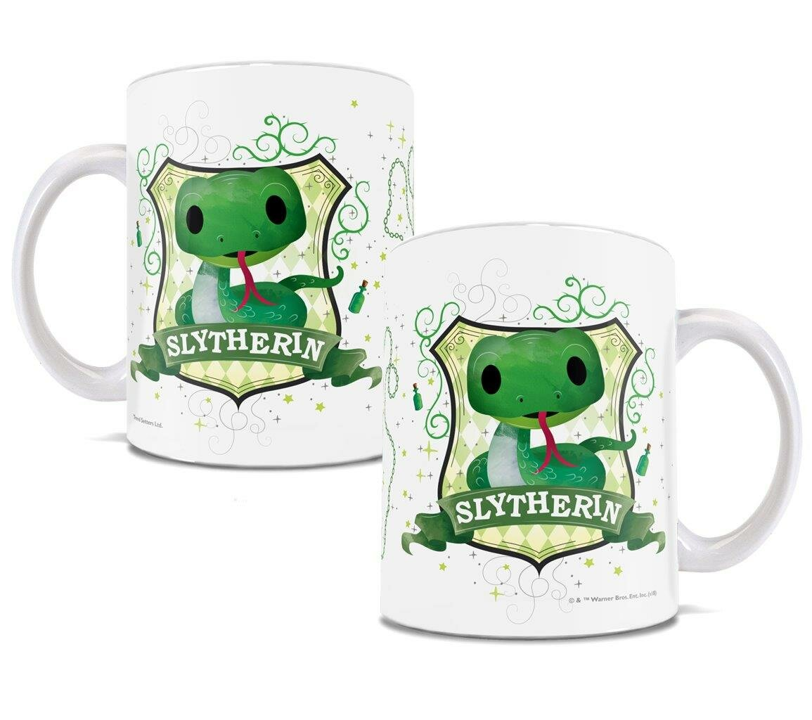 Trend Setters Harry Potter Slytherin Chibi Cute Geek Coffee Mug ...