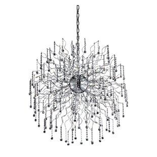 Everly Quinn Verda 44-Light Sputnik Chandelier