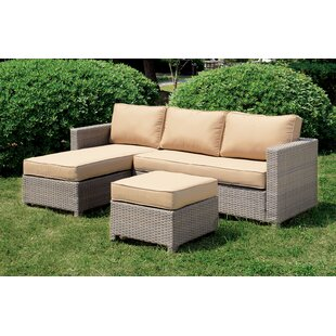 Lesure Patio Sectional with Cushions
