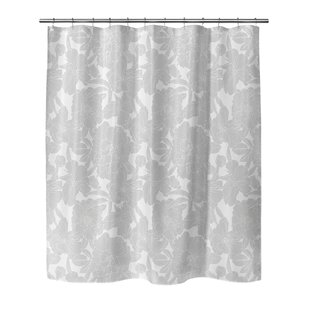 Mandujano Flower Power Single Shower Curtain