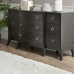 Burgess 9 Drawer Double dresser