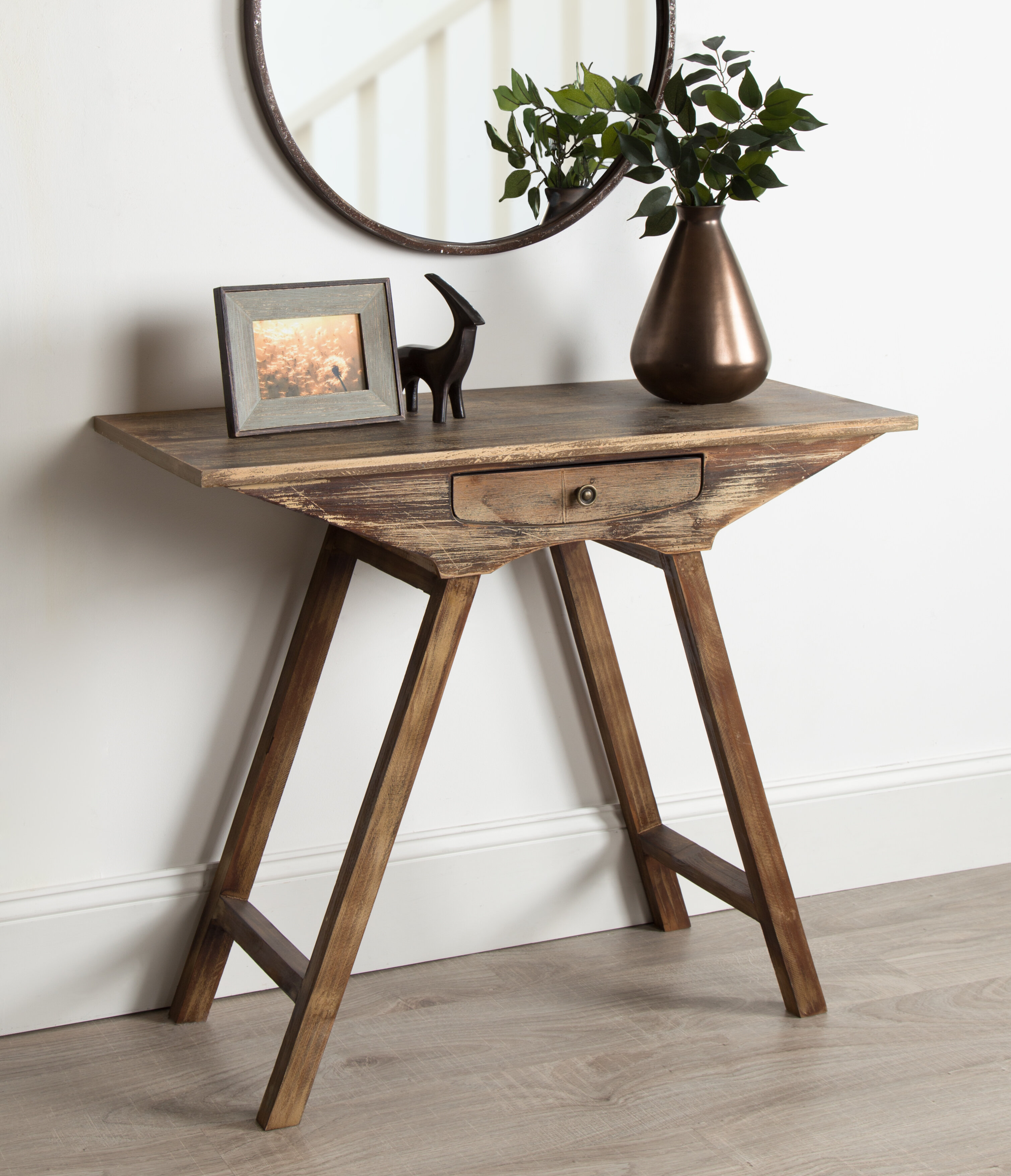 - Union Rustic Pringle Chic Small Wooden Console Table & Reviews