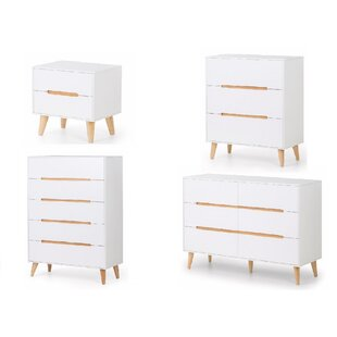 Roland 4 Piece Bedroom Set By Mikado Living