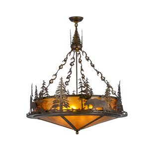 4-Light Bowl Pendant by Meyda Tiffany