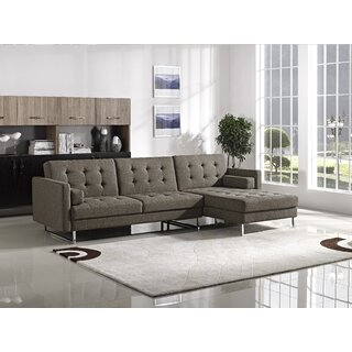 Alsatia Right Hand Facing Sleeper Sectional by Wade Logan SKU:BC169670 Details