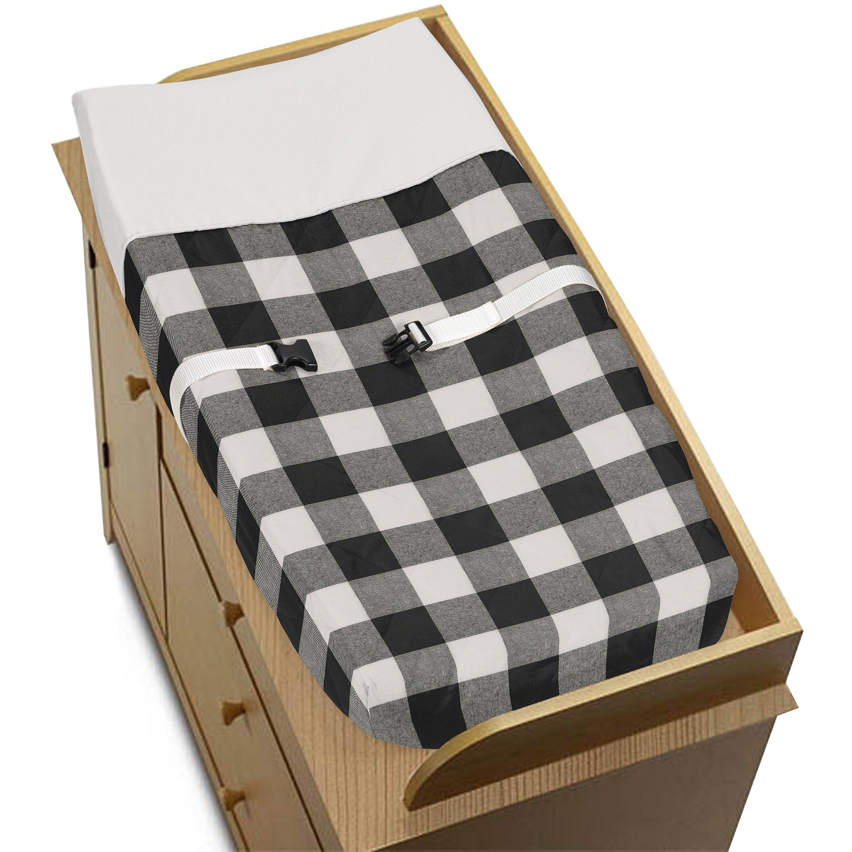 Sweet Jojo Designs Buffalo Check Changing Pad Cover Wayfair