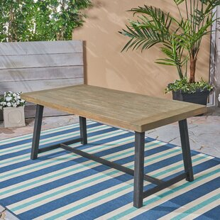 Liberatore Solid Wood Dining Table by Uni..
