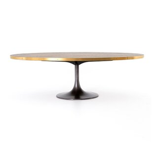17 Stories Sommer Oval Dining Table