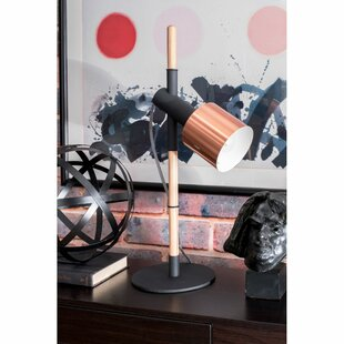 Bourgeois Wood and Metal 24 Table Lamp