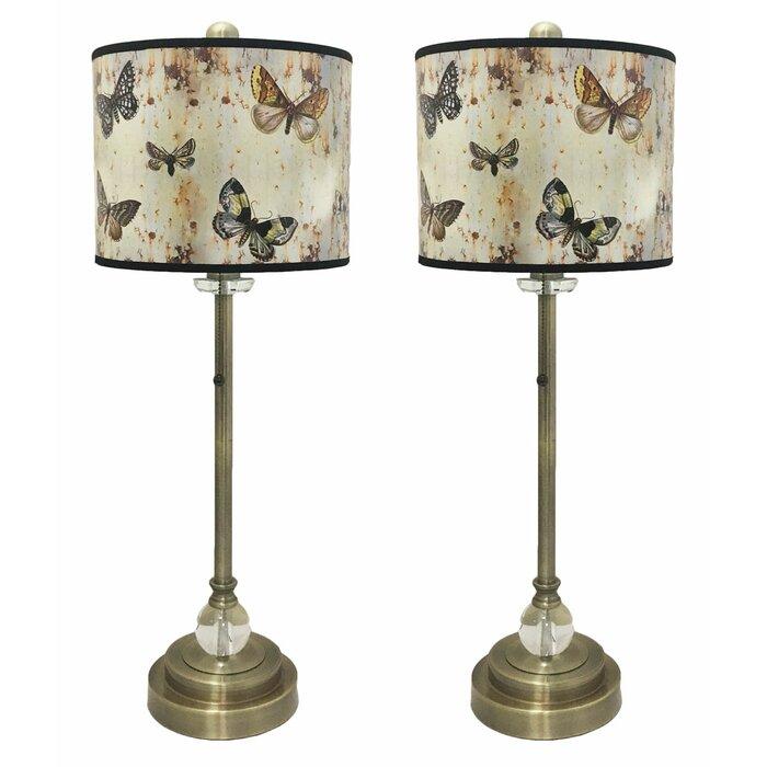 Moylan crystal 28 buffet lamp
