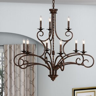 Fleur De Lis Living Brenda 9-Light Chandelier