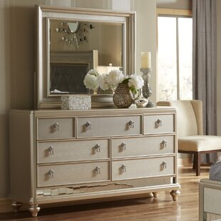 Willa Arlo Interiors Fanchon 7 Drawer Dre..