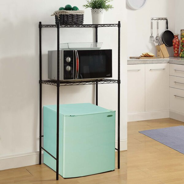 Oia Microwave And Mini Fridge Storage Rack Amp Reviews Wayfair