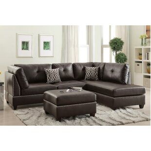 A&J Homes Studio Mario Sectional with ott..