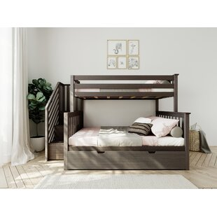 Twin over Full Bunk Bed with Trundle by Harriet Bee