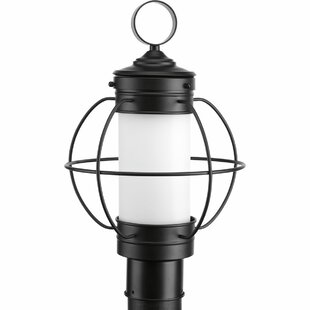 Top Reviews Nayeli 1-Light Metal Lantern Head By Breakwater Bay