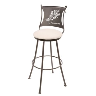 Chipman Rosemary 25 Swivel Bar Stool by Fleur De Lis Living Great price