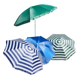 Pospisil 1.8m Beach Parasol (Set Of 12) By Sol 72 Outdoor