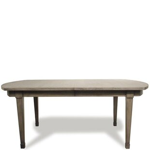Malt Extendable Dining Table Three Posts