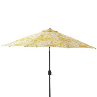 Addie 9' Market Umbrella by Pillow Perfect Best Design