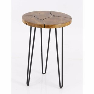 Keena Teak End Table by Union Rustic