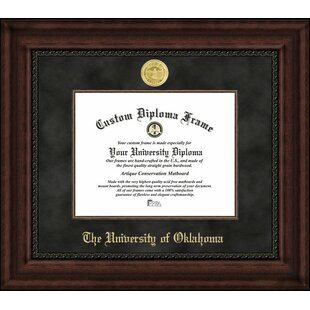 NCAA Oklahoma Sooners Executive Diploma Frame By Campus Images