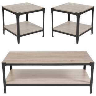 Read Reviews Grindle 3 Piece Coffee Table Set By Williston Forge