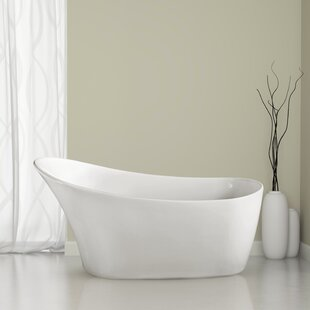 Look for 59.1 x 31.5 Freestanding Soaking Bathtub By Wildon Home ®