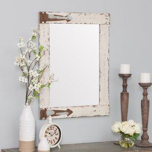 Ophelia & Co. Kist Farmhouse Wall Mirror