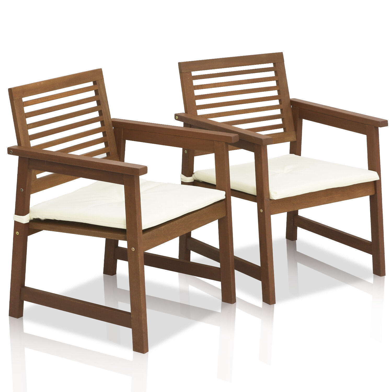 Arianna Patio Chairs With Cushions