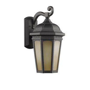 Telsa 1-Light Transitional Outdoor Wall Lantern